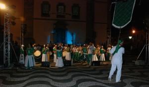 Apresentação da Cia. em guape, no Circuito Cultural Paulista 2009