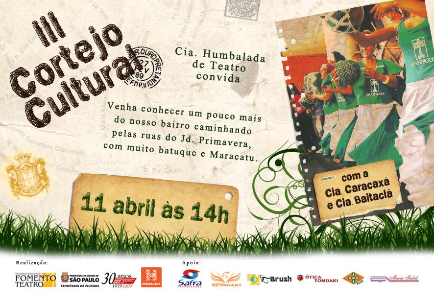 Flyer Humbalada Divulgação